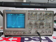TEKTRONIX 2465B 400MHz 4ch OSCILLOSCOPE, refurbed, including fresh battery/nvram
