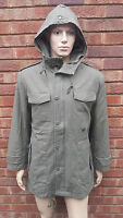 Original German Army Nato Military Vintage Parka Jacket With Liner