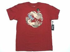 NEW RIP CURL MEN IT'S MY FISH TEE T SHIRT ORGANIC COTTON size LARGE code HH152