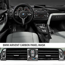 New Carbon Fiber Air Vent Interior Cover Molding Trim for BMW 3Series F30
