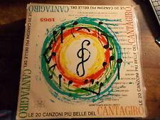 LE PIU BELLE CANZONI DEL CANTAGIRO 1965   LP