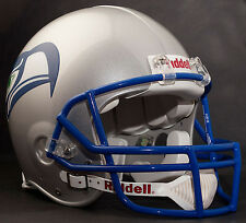 WARREN MOON SEATTLE SEAHAWKS Schutt OPO Football Helmet FACEMASK - SEATTLE BLUE