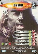 DR WHO ULTIMATE MONSTERS CARD 685 OGRON