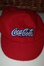 Vintage 1984 Coke Coca Cola Baseball Cap New With Tags Red White One Size Elasti