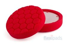 FLEXIPADS RED 150mm Hex-Logic ULTRA FINE finishing Pad AUTHORISED FLEXI STOCKIST