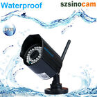 HD 720P 1MP WIFI WLAN Wireless CCTV Security Outdoor Night Vision IP Camera IR