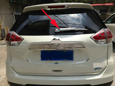 Rear Window Wiper Nozzle Cover Trim for 2014-2017 Nissan X-Trail Rogue 2015 ABS