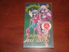 I CAVALIERI DELLO ZODIACO LA SERIE TV Vol.4  YAMATO YS-1804  VHS NEW