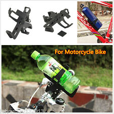 1p Motorcycle Bike Beverage Water Bottle Holder Drink Cup No Tool Easy Mounting