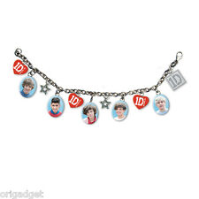 BRACCIALE CHARM 1D ONE DIRECTION OFFICIAL CHARM BRACELET 1DCHBRAC02