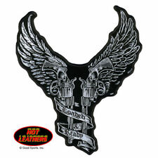"Young Guns Loaded And Ready 9 "" X 10"" Motorcycle Biker Uniform Patch"