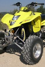 ATV,SHOCK COVER, PROTECTEUR D'AMORTISSEUR ,VTT,SUZUKI ,HONDA ,MONSTER YELLOW