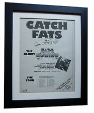 FATS DOMINO+New Orleans+TOUR+POSTER+AD+FRAMED+ORIGINAL 1977+EXPRESS GLOBAL SHIP