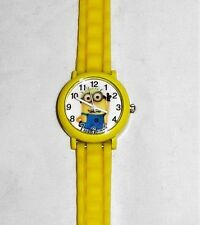 DESPICABLE ME MINIONS YELLOW Silicone Band WRIST WATCH FOR CHILDREN 5 AND UP