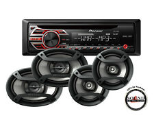 """Pioneer DEH-150MP CD Player DEH150MP with 6x9"""" TS-695P & 6.5"""" Speakers TS-165P"""
