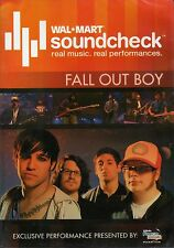 Fall Out Boy - Walmart Soundcheck (Slimline DVD, 2007) BRAND NEW FACTORY SEALED