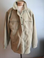 Lady Hathaway Light Green Fleece Shirt Jacket or  Button Front Shirt Size XL