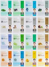 Dermal Korea Collagen Essence Full Face Facial Mask Sheet - 16 Combo Pack