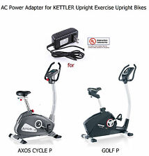 AC DC Power Adapter for KETTLER AXOS CYCLE P & GOLF P Upright Exercise Bike