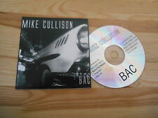 CD Pop Mike Cullison - Bac (10 Song) PRIVATE PRESS - cardboard sleeve -