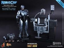 ROBOCOP WITH MECHANICAL CHAIR DIECAST FIGURE HOT TOYS SIDESHOW STATUE BRAND NEW