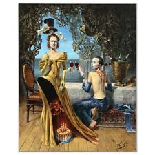 "Michael Cheval ""Magician Birthday"" AP 2/10 Giclee on Stretched Canvas $4950.00"