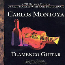 The Gold Collection by Carlos Montoya (CD, 2 Discs, Retro) Flamenco! 32 Tracks