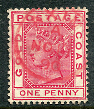 GOLD COAST: (12390) red AXIM postmark/cancel