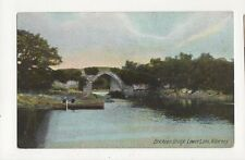 Brickeen Bridge Lower Lake Killarney Ireland Vintage Postcard 312a