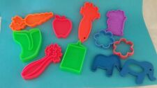 Vintage 1972 6 piece Mattel Tuff Stuff Plastic Play Grocery Toy Food PLUS extras