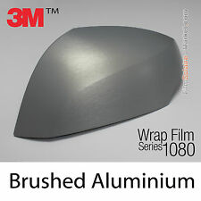 20x30cm FILM Brushed Aluminium 3M 1080 BR120 Vinyle COVERING Series Wrap Film