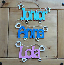 Wooden letters, Name Plaques Words/Letters Wall/Door Art/craft/Sign alphabet