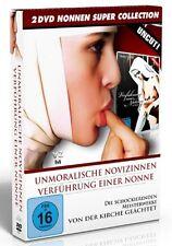 NONNEN BOX Uncut LA NOVIZIA Verführung einer Nonne UNMORALISCHE NOVIZINNEN 2 DVD