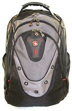 "NEW SwissGear by Wenger 'Update' 15"" Macbook Pro Backpack   Black/Grey   Nw/oT"