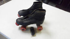 VINTAGE CHICAGO MEN'S ROLLER SKATES SIZE 6 FO-MAC 77 G WHEELS NEW 1970'S  LACES