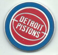 NBA Detroit Pistons Round Vintage Magnet From 1990's Scarce/OOP  Basketball