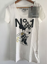 "JOY RICH ""Minnie""  T-shirt, White, Size Small, SOLD OUT item !!"