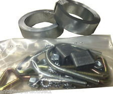 Easy Up Chimney Mount Repair Kit - 24' Galvanized Steel Straps & Hardware Only