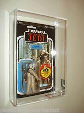 Vintage-Star Wars Kenner Rotj 77 Back-B Logray AFA 80/85/85 perforado