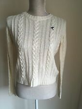 Blonde+blonde Women Jumper Cream Knit Size 10 (9)