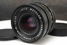 :Leica Summicron-R II 35mm F2 E55 Manual Focus R Mount Lens EX