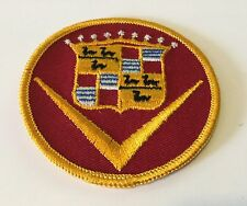 VINTAGE CADILLAC CREST EMBROIDERED PATCH