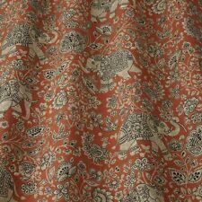 Iliv Samira Indira Henna Curtain/Uphol Indian Elephant Design Fabric