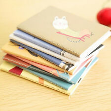 Pocket Cartoon Diary Planner Notepad Notebook Write Paper Handy Memo Journal