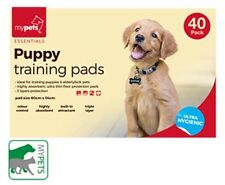 NEW DELUXE PUPPY TRAINING PADS SCENTED ODOUR CONTROL 40 IN PACK