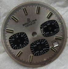 Breitling Geneve Chronograph mens wristwatch Dial 31 mm. in diameter