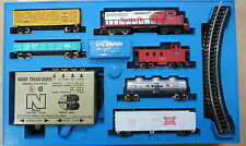 Bachmann 4326 GP-40 Diesel 5 Car Set W/Power Pack N-Scale