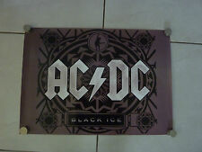 AC/DC BLACK ICE RARE ORIGINAL SHOP DISPLAY POSTER! XX