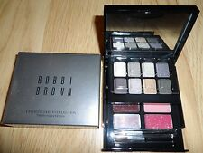 BOBBI BROWN ULTIMATE PARTY COLLECTION : 12 SHADOW / LIPGLOSS 2 BRUSHES NIB