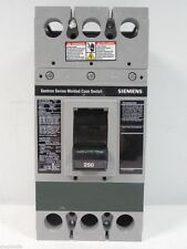 US$2500 SIEMENS FXD63S250A Sentron MCCB Switch SIE BREAKER MCCB 3P 250A 600V NEW